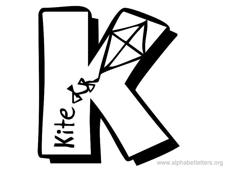 Fancy Letter K Clipart.
