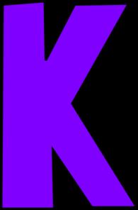 Clipart Letters ., Letter K Free Clipart.