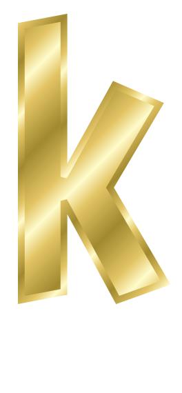 clipart letter k #19