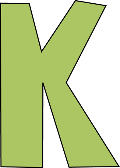 Clipart That Begins With Letter K.
