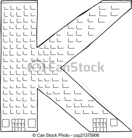 Vector Clipart of Building