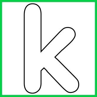 Common Worksheets » Letter K Printable.