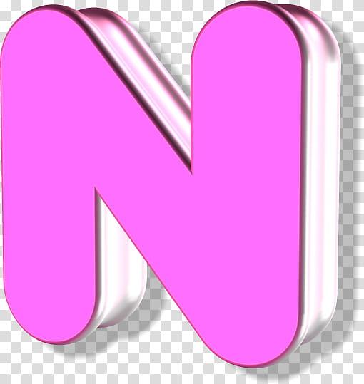 Pink letter \