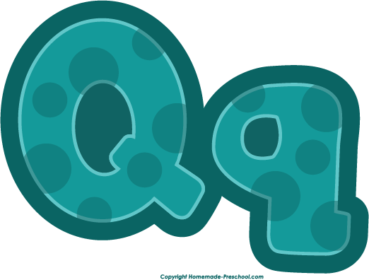 Gallery For > Preschool Letter Q Clipart.