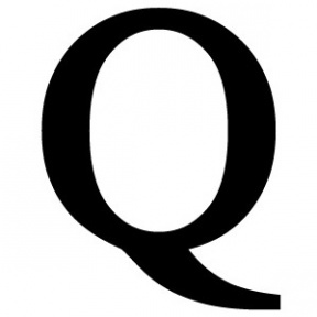 Clip Art Letter Q.