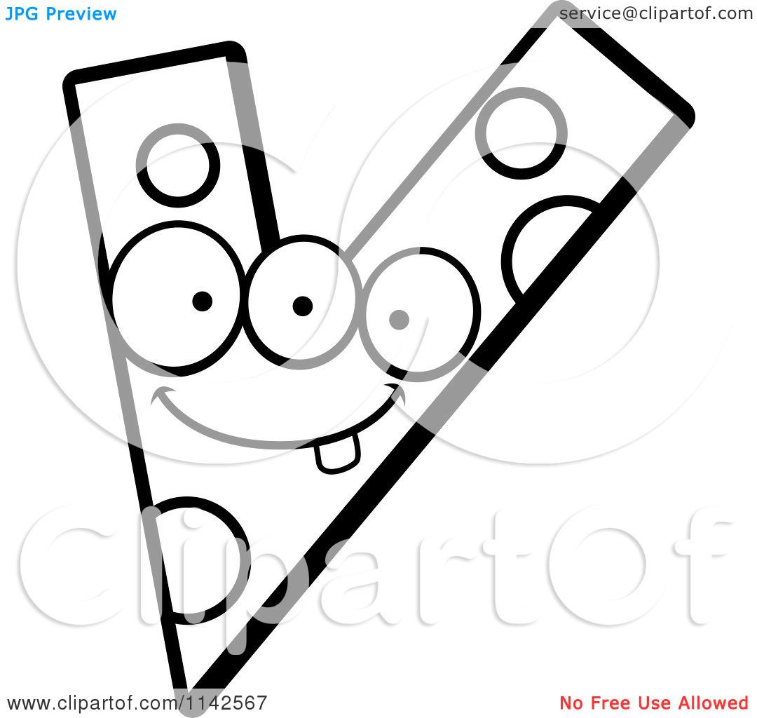 Clipart Letter V Design Black And White Clipground