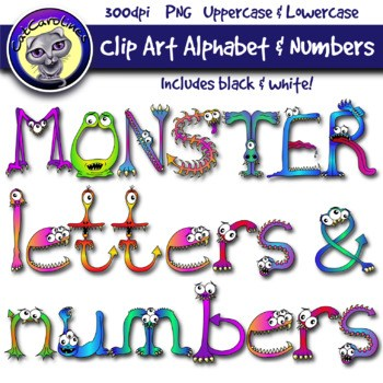 Letters and numbers clipart 8 » Clipart Portal.