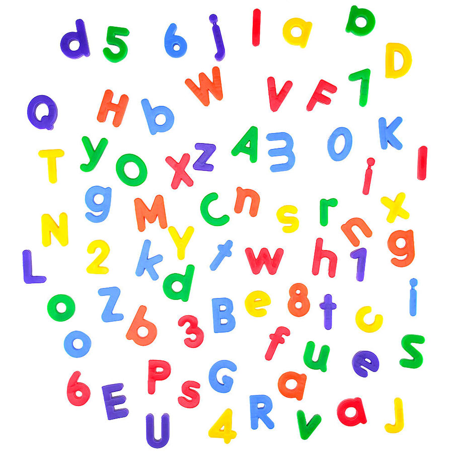 Numbers And Letters Clipart.