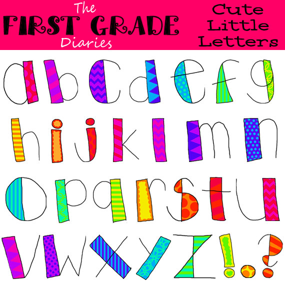 Cute Clipart Letters Free.