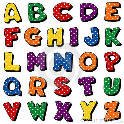 free clip art letters of the alphabet a to z.