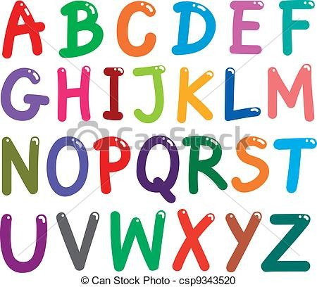 Letters of the alphabet clipart 4 » Clipart Station.
