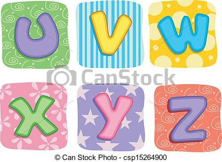 Letters of the alphabet clipart » Clipart Portal.