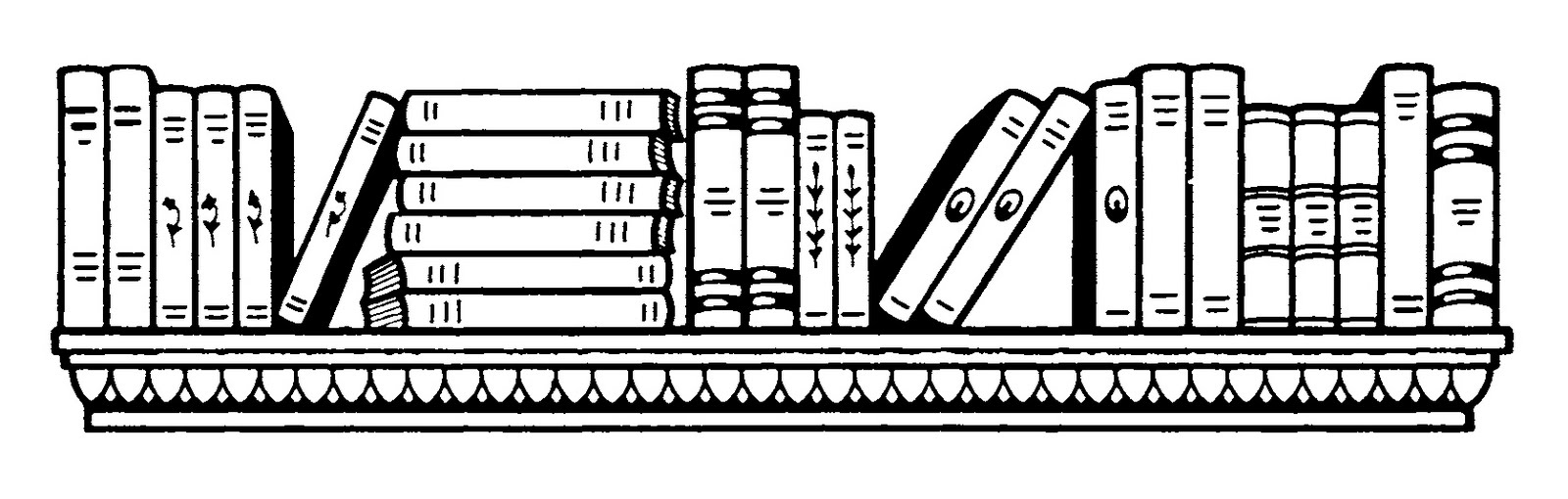 Free Library Black And White Clipart, Download Free Clip Art.