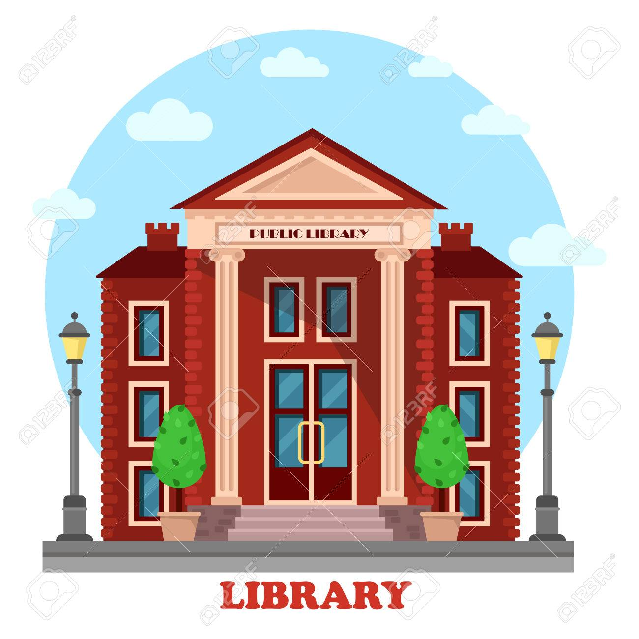 Library Building Clipart (85+ images in Collection) Page 2.