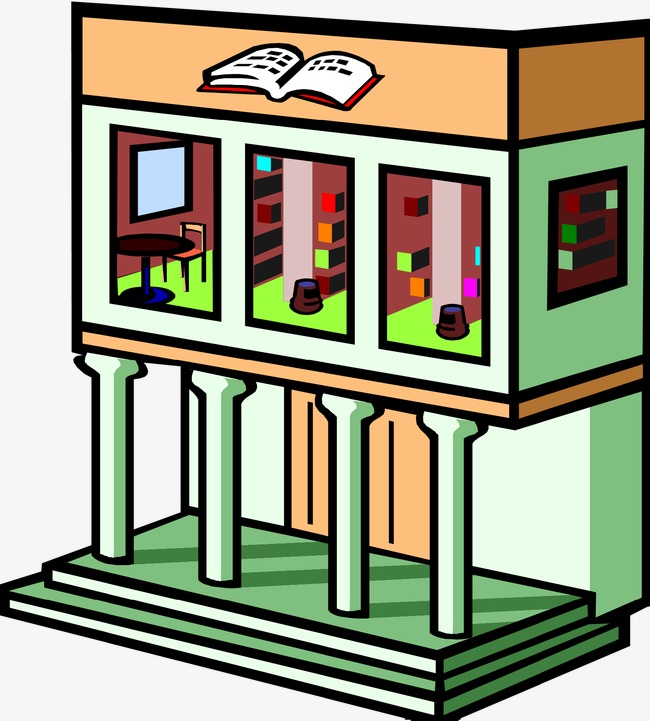 Library building clipart 7 » Clipart Station.