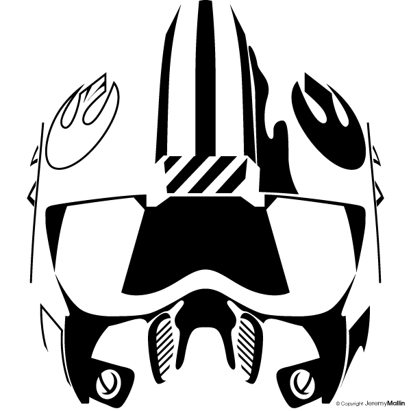 Star wars rebel helmet clipart library library png files, Free CLip.