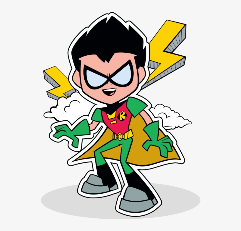 Robin Teen Titans Png Clipart Library Download.