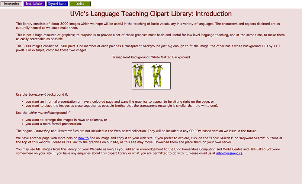 UVic's Language Teaching Clipart Library Reviews.