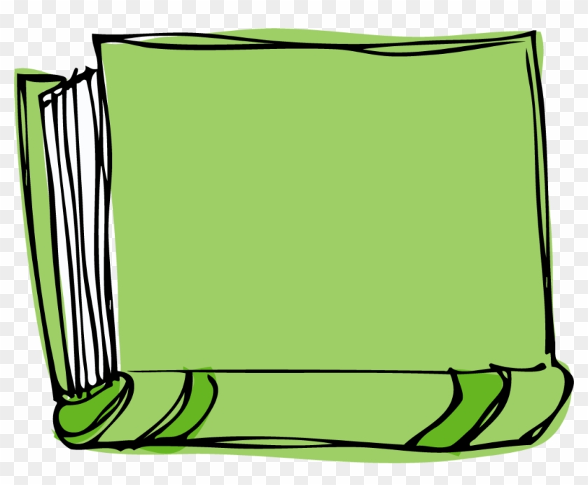 Green Book Clipart Banner Black And White Stock.