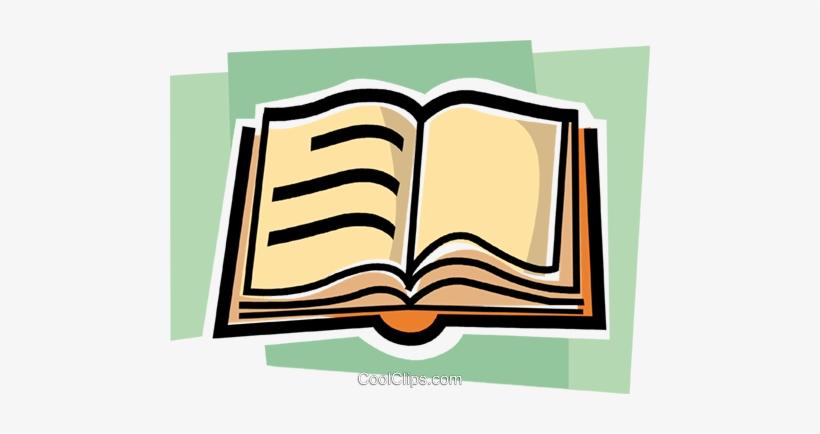 Libro Abierto Libres De Derechos Ilustraciones De Vectores.