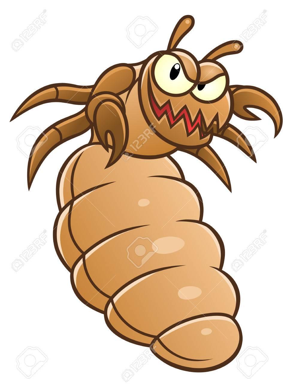 Funny louse.