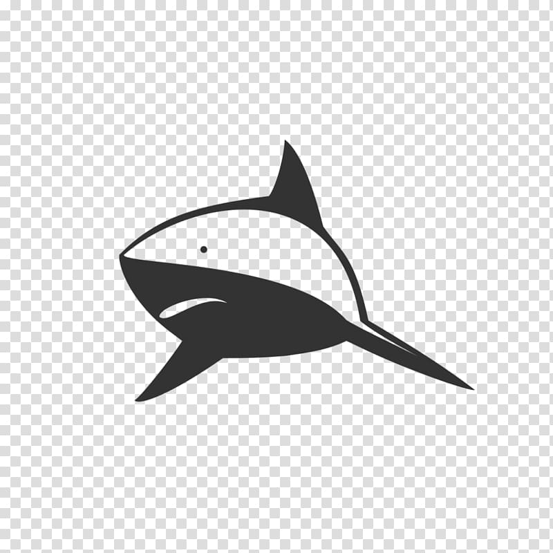 Logo Licence CC0 Public domain, shark transparent background.
