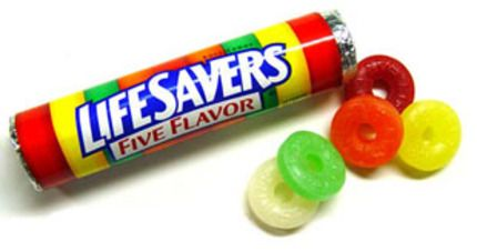 Lifesaver Candy Clipart.