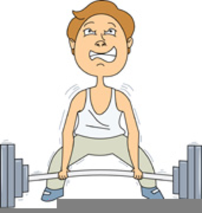 Clipart Lifting Weights.