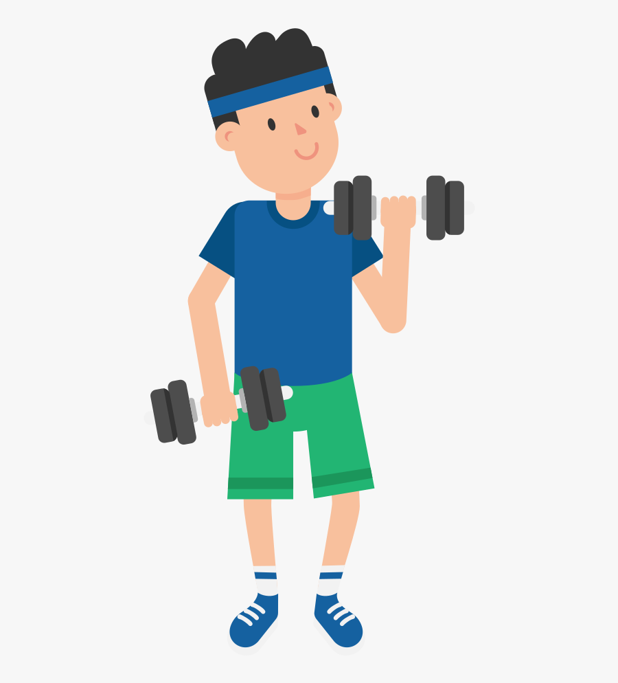 Clip Art Dumbbell Cartoons.