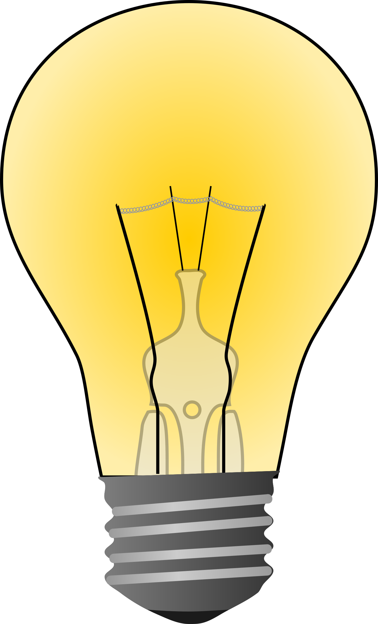 Pictures Of Light Bulbs Clipart.