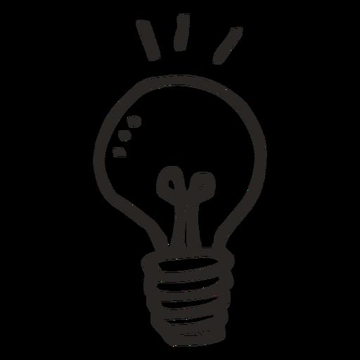 Incandescent light bulb Idea Clip art.