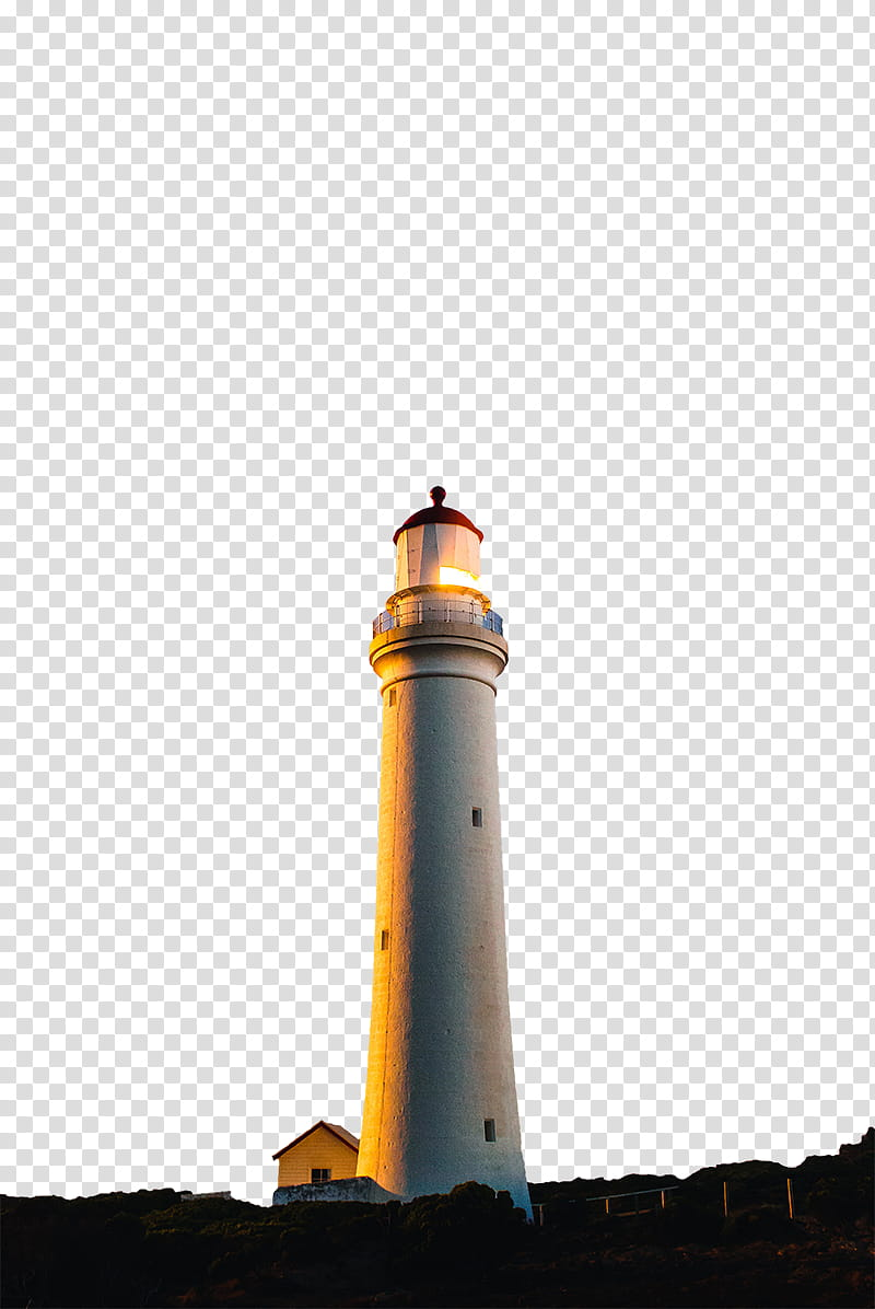 Highborn, lighthouse illustration transparent background PNG.