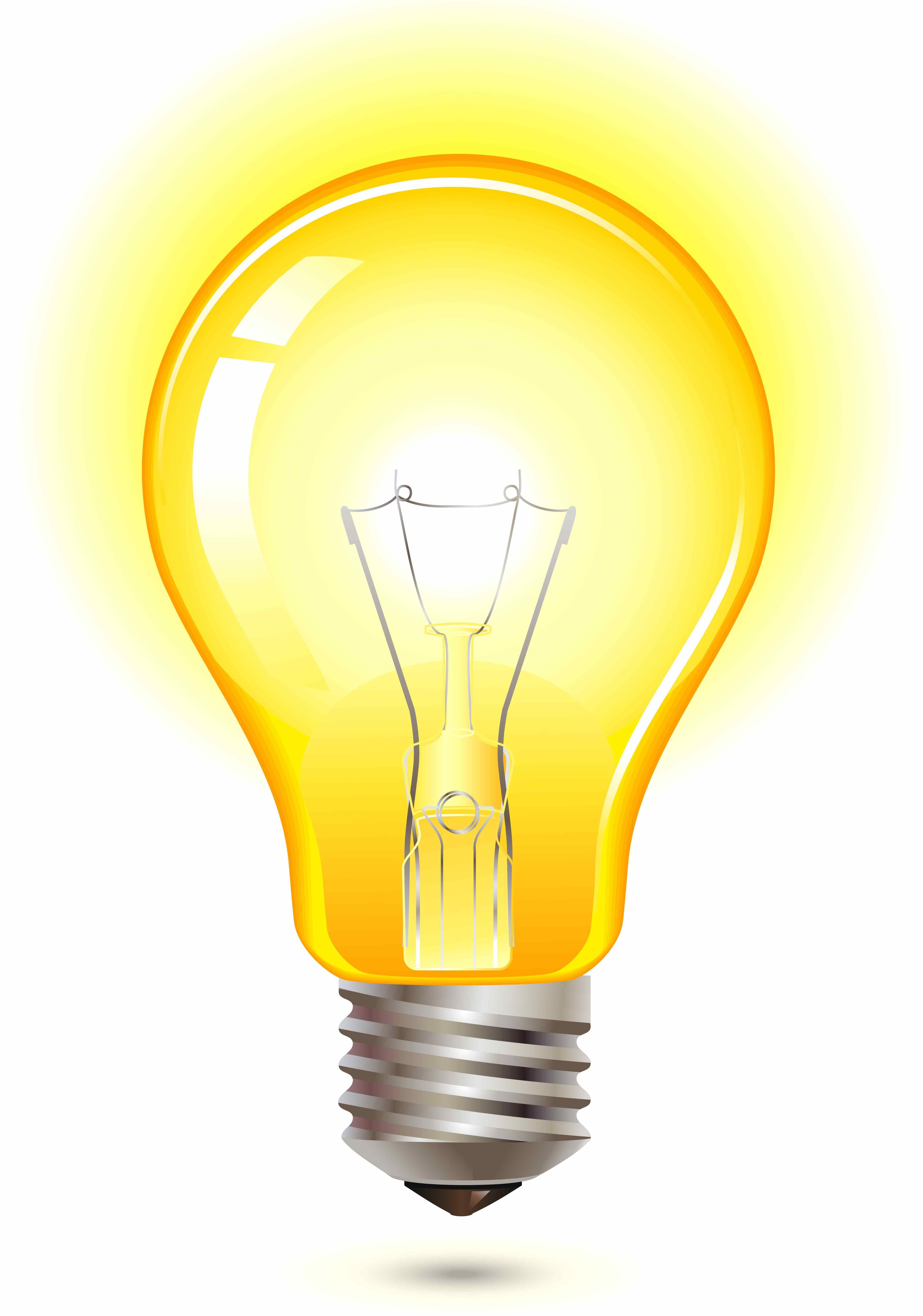 Lightbulb light bulbs cliparts and others art inspiration.