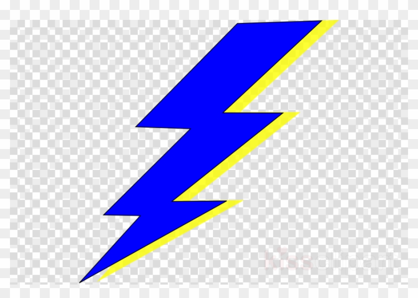 Blue And Yellow Lightning Bolt Clipart Lightning Electricity.