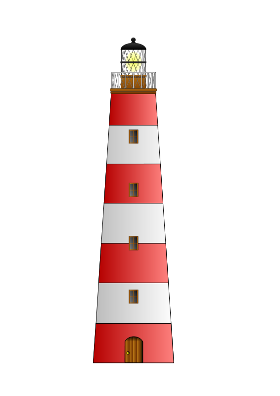 Free Clipart: Lighthouse matthew gates.