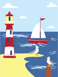 457 lighthouse clip art christian.