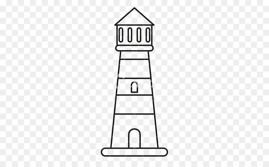 Cape Hatteras Lighthouse Black And White png download.