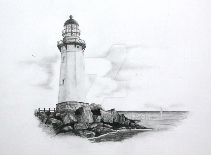 Free Lighthouse Drawing, Download Free Clip Art, Free Clip Art on.