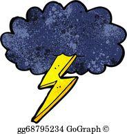 Lightning Bolt Clip Art.