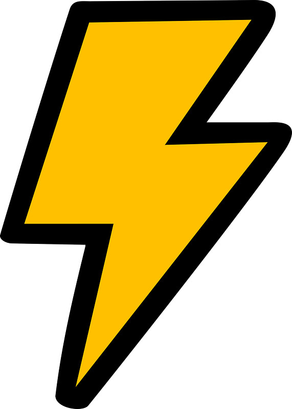 Cartoon Lightning Bolt Pictures Group with 84+ items.