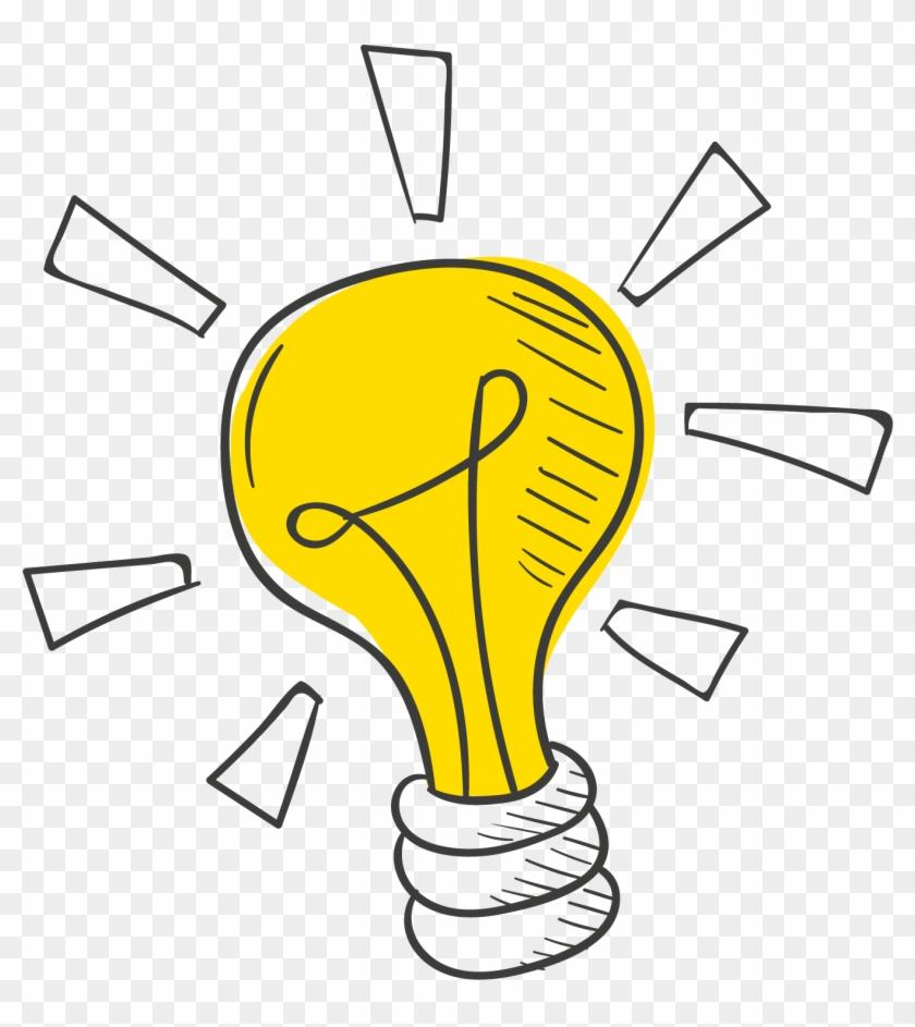 Light Idea Bulb Incandescent Download Hd Png Clipart.