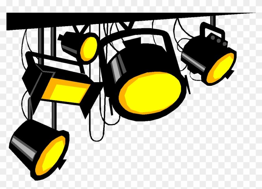 Technical Lighting Illustration.