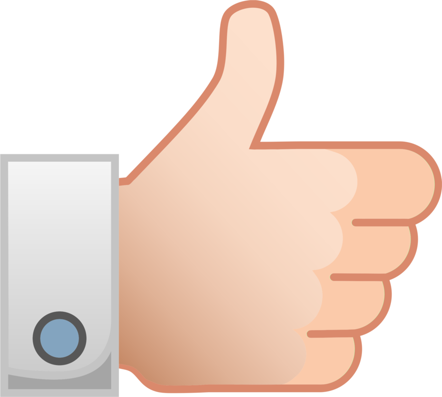 Facebook Like Button clipart.