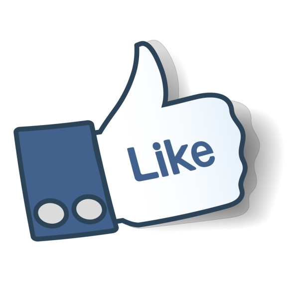 Like us on facebook clipart.