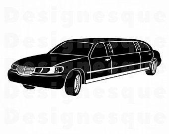 Limousine clipart.