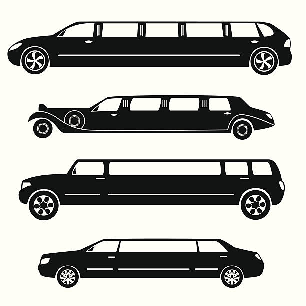 Best Limo Illustrations, Royalty.
