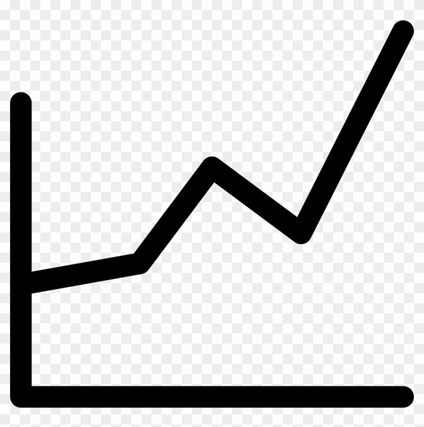 Library of line graph clip art black and white librarys png.