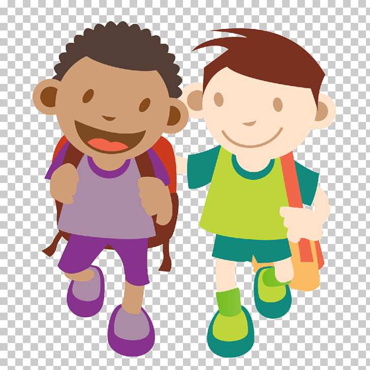 Child Walking Free content , Line Leader s PNG clipart.