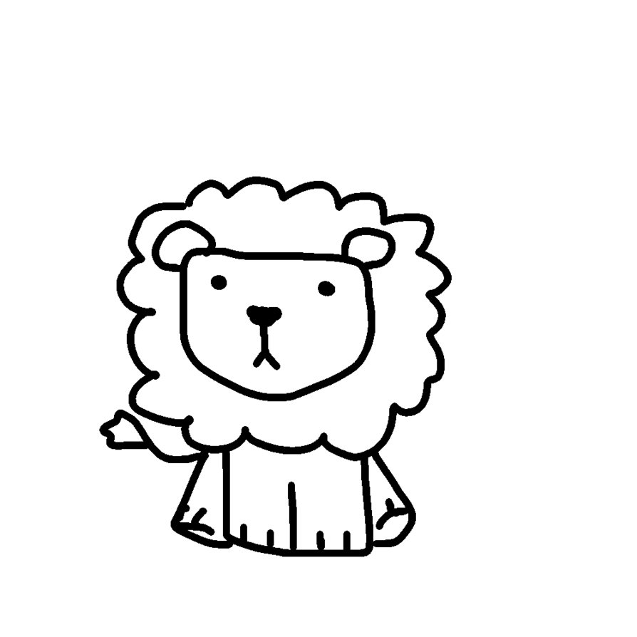 Free Lion Line Art, Download Free Clip Art, Free Clip Art on.