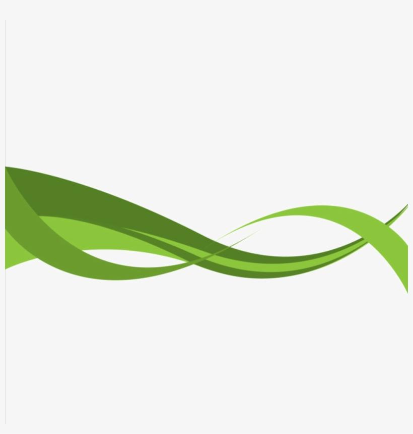 Curve Clipart Leaf Logo.